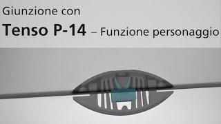 Ferramenta d'assemblaggio LAMELLO TENSO P-14 con la funcione di precarico