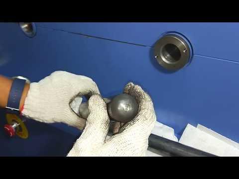 TD-31040-OD33.6X3.0T heat exchanger tube roll closuremachine,sealing tube end Close machine gas spring tube -gemak