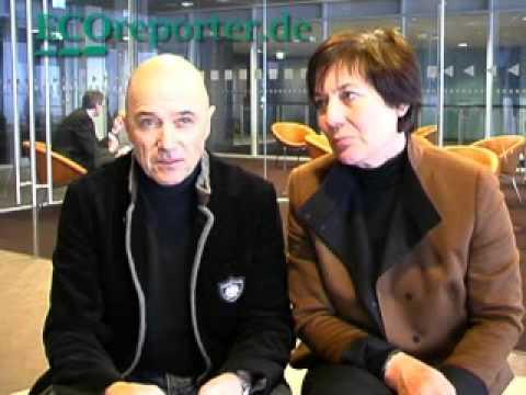 ECOreporterTV Interview mit den Skistars Rosi Mittermaier und Christian Neureuther