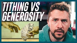 Hard Truth: Tithing Vs Biblical Generosity, Stop Quoting That Verse Reaction