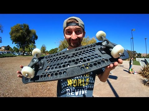 FULLY 3D PRINTED COMPLETE SKATEBOARD | YOU MAKE IT WE SKATE IT EP 43
