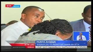 KTN Leo: Gavana Munya ahojiwa kwa madai hakutoa hesabu za mwaka 2013/14, 4/10/2016