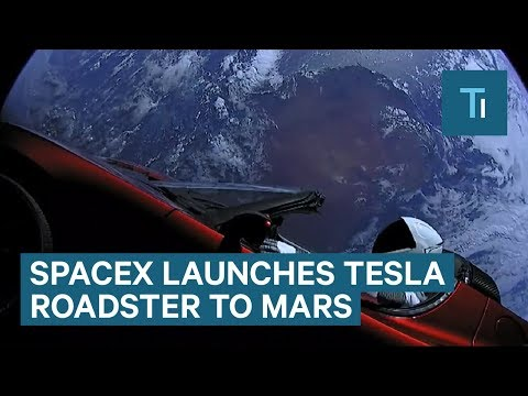 Watch SpaceX Launch A Tesla Roadster To Mars On The Falcon Heavy Rocket — And Why It Matters