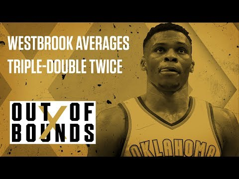 Russell Westbrook First to Average Triple-Double Twice | Out of Bounds