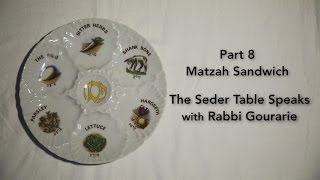 The Seder Table Speaks Part 8