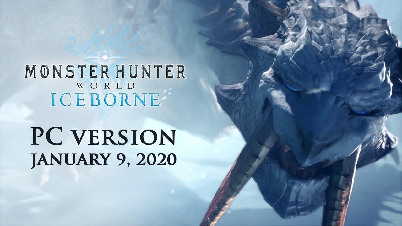 Annunciata la data di uscita di Monster Hunter World Iceborne per PC