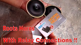Bosch symphony horns installation on pulsar 220 most popular videos roots horn with relay connections in hindi swarovskicordoba Gallery