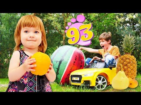 Адриан везет фрукты для Бьянки - Маша Капуки и Привет, Бьянка - Песня про фрукты