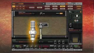 preview picture of video 'AmpliTube Custom Shop New Gear - Jet City, German Gain, Hi Amp and 2 Mics'