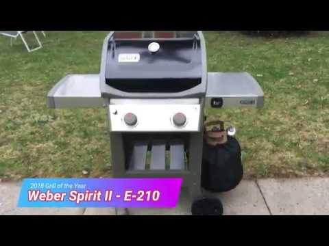 Weber Spirit II E-210 Grill Review