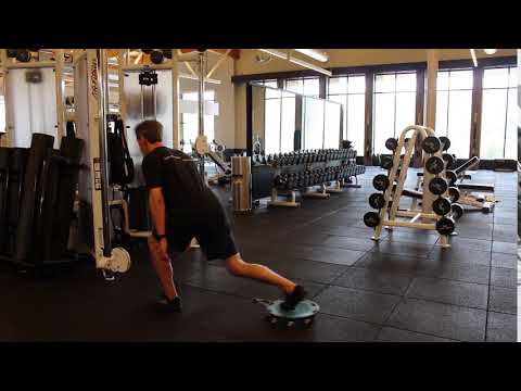 Reverse Lunge Cable Pulse