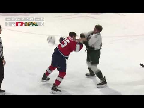 Dawson Butt vs. Scott Mahovlich