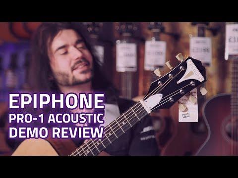 Epiphone Pro-1 Acoustic Guitar review – A Cheap Acoustic That Sounds Amazing!