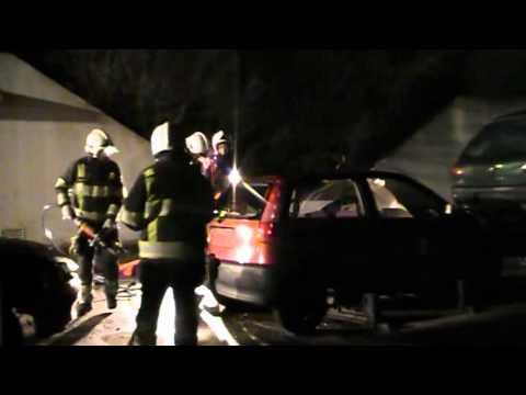 Oefeningen brandweer Vierlingsbeek: MOB complex Oploo