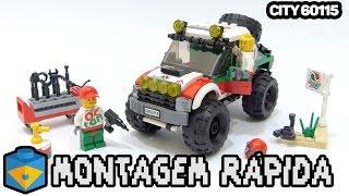 LEGO City 60115 4x4 Off-Road | Montagem Rápida #20