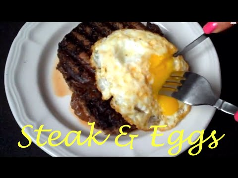 How to Make Easy Steak & Eggs – Breakfast/Brunch Recipe