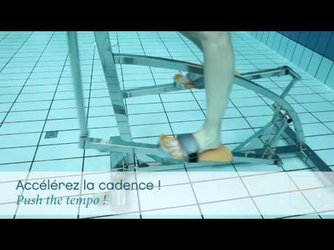 Bicicleta elíptica acuática Elly Waterflex