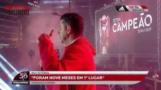 SL. Benfica Treinador Rui Vitoria  Discurso Do Tetra Campeonato Marques Pombal
