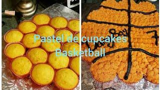 Como Hacer Pastel De Cupcakes, Basketball Cake