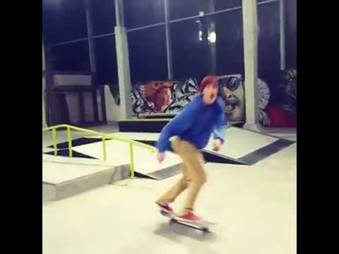 [Instagram dimitri] Antoine Deraine 50 50 sur tout le rail, Skatepark Laverdure Beauvais (60)