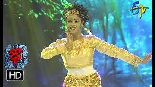 Dharsini Performance   Dhee 10    13th June 2018   ETV Telugu