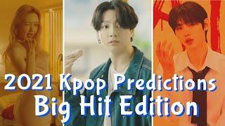 My 2021 Kpop Predictions | Big Hit Edition