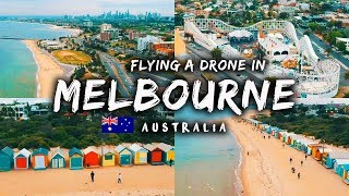 Flying a DRONE in Melbourne VLOG 73