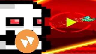 Geometry Dash - All Sub Zero Levels Fast and Reverse