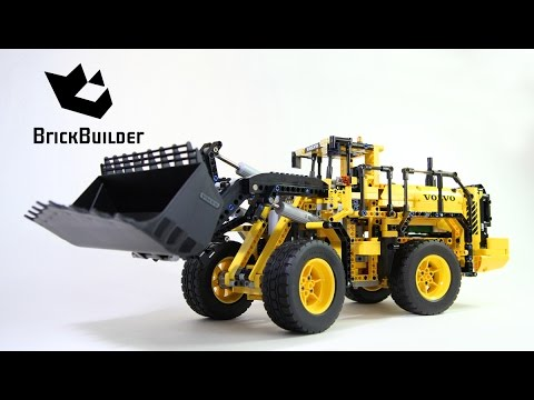 Lego Technic 42030 VOLVO L350F Wheel Loader - Lego Speed build