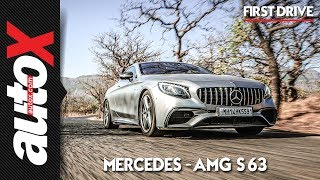 2019 Mercedes-AMG S63 Coupe First Drive Video Review