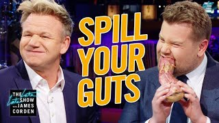 Spill Your Guts or Fill Your Guts w/ Gordon Ramsay - dooclip.me
