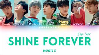 Monsta X (몬스타엑스) - Shine Forever(Japanese Version) (COLOR CODED/HAN/ROM/ENG)