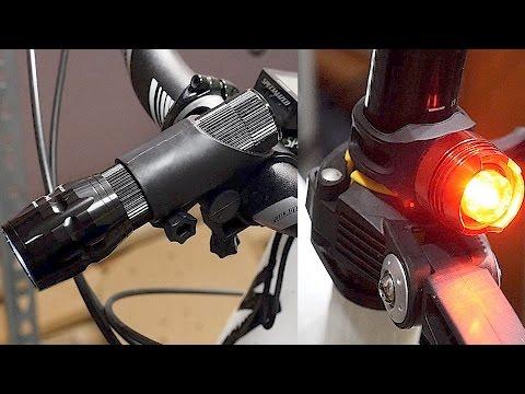 LED Fahrradbeleuchtung und TASCHENLAMPE in einem! // Camden Gear Vivid XIII im Test!