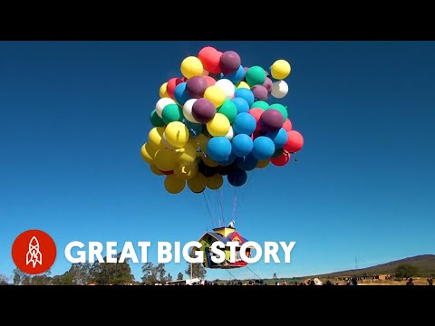 Meet the Man Living His Childhood Dream of Flying by Balloons