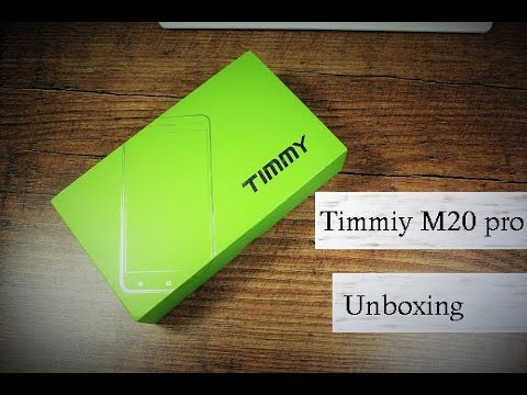 Timmy M20 pro - Neuer Chinakracher ? - Unboxing  - Deutsch