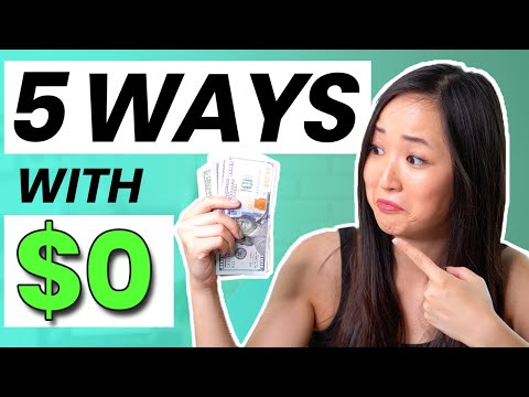 5 BEST WAYS to Make Passive Income with NO MONEY