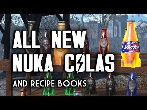 All New Nuka Colas - Where to Find All Nuka Cola Recipe Books - Fallout 4 Nuka World DLC