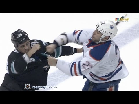 Micheal Haley vs. Milan Lucic