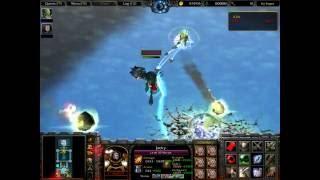 Warcraft 3 - Trùm cuối siêu mạnh trong map X-Hero Siege 10.0.2