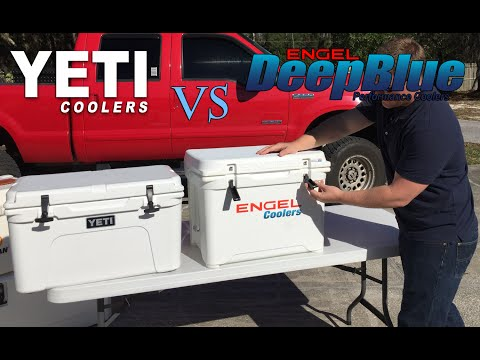 Engel Vs Yeti Coolers, Engel Outperforms Yeti In Five Day Ice Challenge, In Depth Comparison Review
