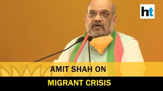 What did you do?: Amit Shah questions opposition on migrant exodus - Download this Video in MP3, M4A, WEBM, MP4, 3GP