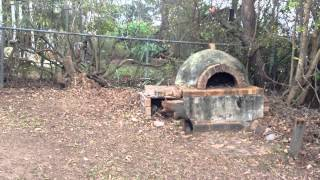 Pizza oven possum