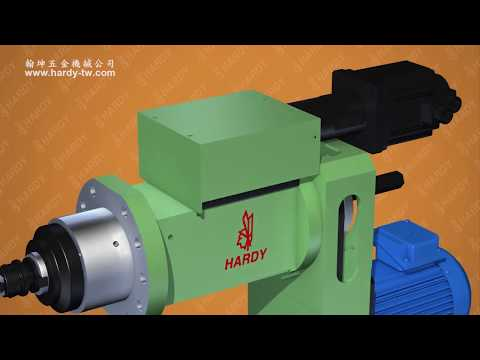 Drilling/Tapping Spindle Head-Linear Guideways With Ball Screw/Flange Type