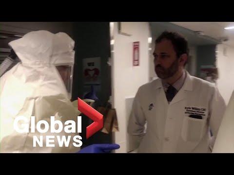 Coronavirus प्रकोप: COVID -19 संकट के दौरान अस्पताल में जीवन में न्यू यॉर्क में डॉक्टर से पता चलता है दिन