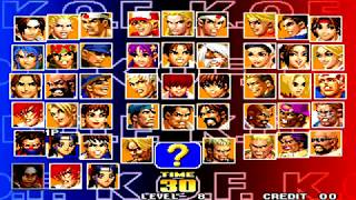 KOF 98 AE - Team Play【TAS】