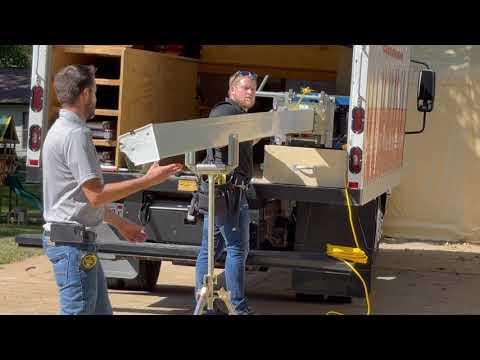 Gutter Shutter Installation by Woods Basement Systems