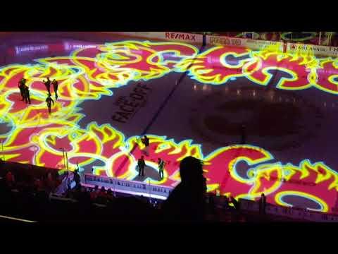 Calgary Flames Home Opener