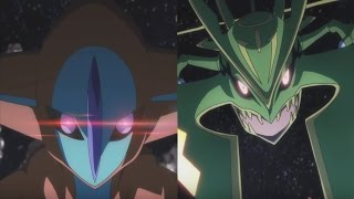 Pokémon Generations Episode 9 The Scoop Review - Deoxys VS Mega Rayquaza!