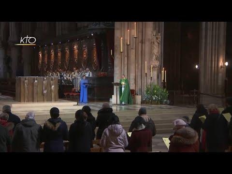 Vêpres à Notre-Dame de Paris du 14 janvier 2019