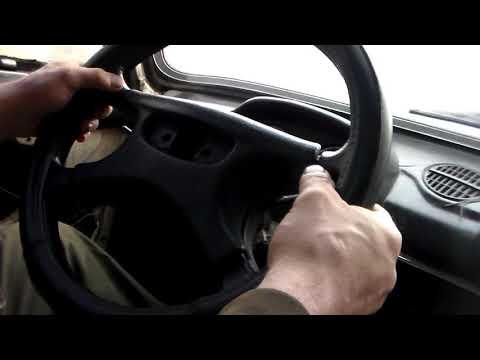 Как правильно снимать руль ваз 2101-2107 ,и с любого автомобиля то же.